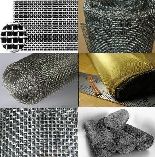 Сетка тканая для отсечки бетона 12х12, 5х5, 10х20 из проволоки 0,7-2,0мм для монолитно-каркасного строительства