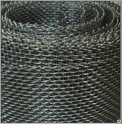 Сетка тканная стальная