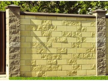 СевРок - производство заборного камня