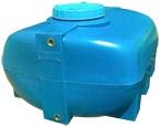 SG-200 Бак горизонтальный. Объем 200 литров Материал: полиэтилен.