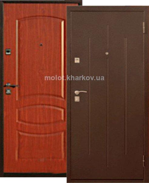 Фото 1 Двери входные металлические, уже готовые со склада , KDS-2 . 343750