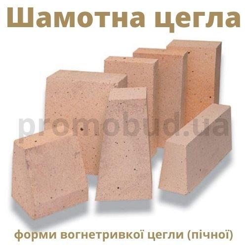 Разнообразие форм шамотного (печного) кирпича