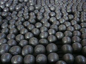 Шары стальные мелющие для шаровых мельниц ф30- ф60мм ГОСТ 7524-89