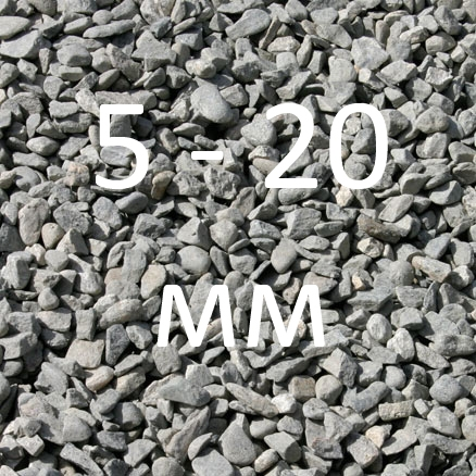Щебень 5-20 (0,033 кб. м. )