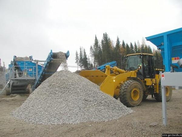 Щебень гранитный любой фракции с доставкой от 130 грн/1т. при объеме от 20 тонн.