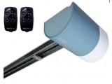 автоматика для секционных гаражных ворот Nice Италия. Комплект привода SHEL50 KCE