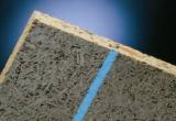 Щепоцементная плита с деревянными рейками для опалубки монолитной плиты перекрытий (перекрытия, балконы, лестницы