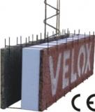 Щепоцементные плиты VELOX - несъёмная опалубка