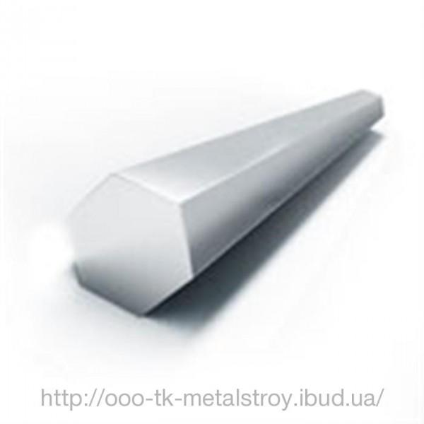 Шестигранник 19 нержавеющая сталь 04X18H9