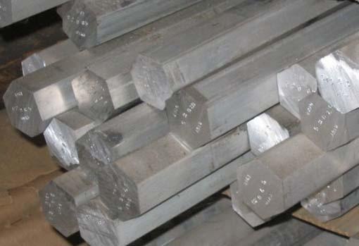 Шестигранник алюминиевый ф24 мм Д16Т (дюраль), длина 3,1-3,2 мп.