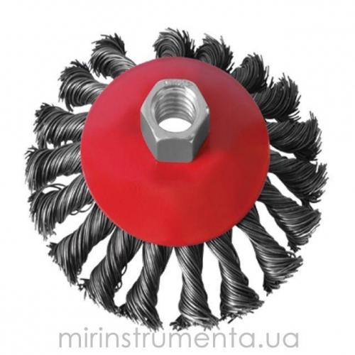 Щетка конусная для УШМ INTERTOOL BT-4115