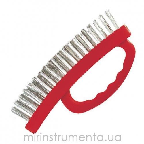 Щетка ручная для зачистки ржавчины INTERTOOL BT-0010