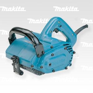 Щеточная машина для шлифования, структуризации, очистки и полирования Макита 9741, щетки 100*120мм, 860Вт, 4кг, Япония
