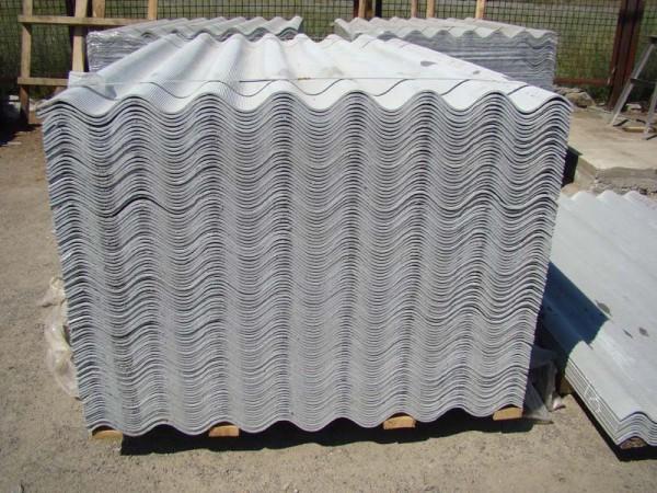 Шифер 8-волновой, серый