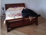 Шикарная кровать из массива дуба
