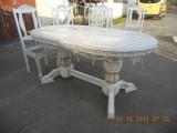 Шикарный стол с Резьбой. Массив Дуба.