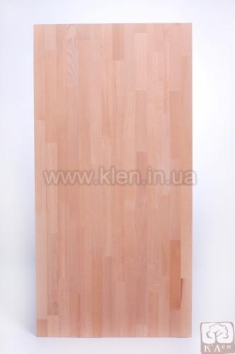 Щит меблевий бук 1800х600х18