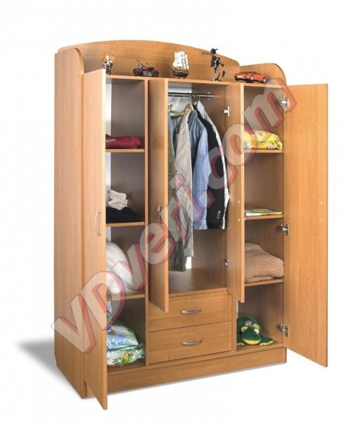 Шкаф детский ШДУ-2 (цвет на выбор)