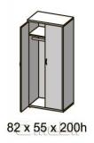 Шкаф гардеробный R 11S вишня A9953