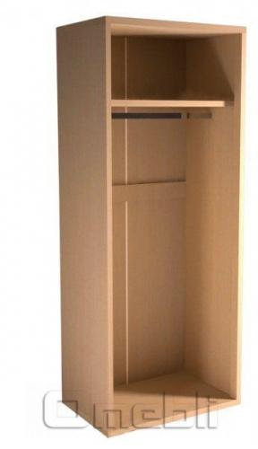 Шкаф гардеробный UK -10  дуб молочный A10240