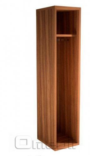 Шкаф гардеробный UK -12  зебрано A10215