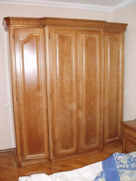 Шкаф из массива Дуба, 4-х дверный