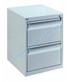 Шкаф картотечный с двумя ячейками КО-2Т