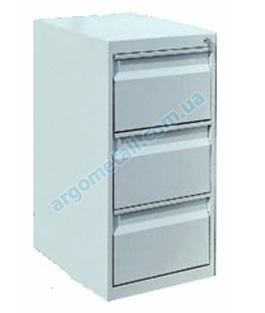 Шкаф картотечный с тремя ячейками КО-31Т