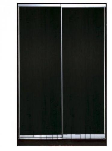 Шкаф-купе 2-х двер. №1, 100*45 б/ящ.  фасад 1/1 венге+венге  корпус дуб молоч. A12526