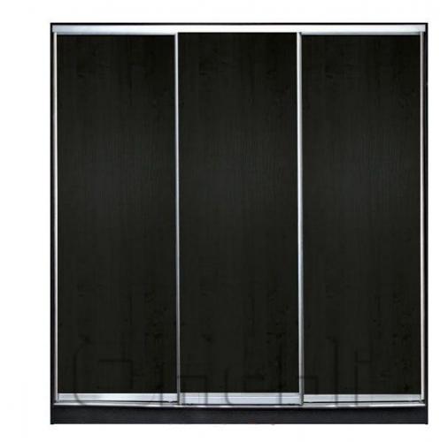 Шкаф-купе 3-х двер. №1 220*45 б/ящ. фасад 1/1/1 венге корпус дуб молоч. A20984