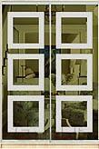 Шкаф-купе Премиум 2-х двер. №1, 100*45 фасад 66/66 зерк/ бронза корпус дуб молоч. A26284