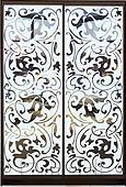 Шкаф-купе Премиум 2-х двер. №1, 100*45 фасад 71/71 зерк/графит корпус дуб молоч. A26308
