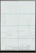 Шкаф-купе Премиум 2-х двер. №2, 100*45 фасад 100/100 белый корпус дуб молоч. A27988