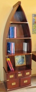 Шкаф лодка книжный EAP0067. Производитель: Antik Jaga Furniture