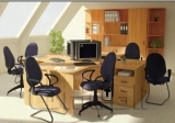 Шкаф офисный R 21 вишня A9963