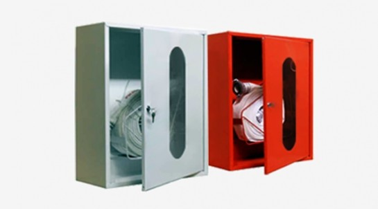 Шкаф пожарный для рукава однодверный