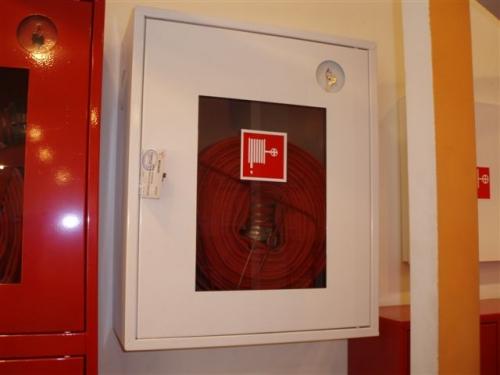 Шкаф пожарний навесной (встроенный)ШПК-310 для кран комплекта пожарного ДУ50; ДУ65