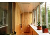 Шкаф с полками на балкон