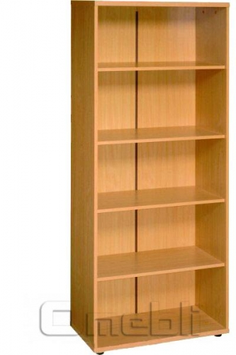 Шкаф широкий открытый R 10 бук A9985