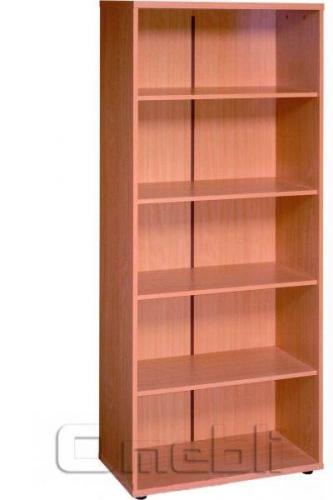 Шкаф широкий открытый R 10 вишня A9984