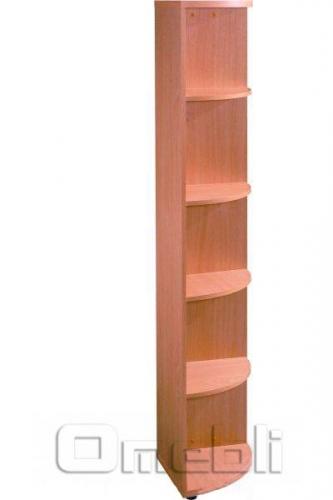 Шкаф угловой R 30 вишня A10009