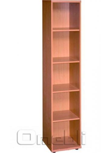 Шкаф узкий открытый R 20 вишня A9990