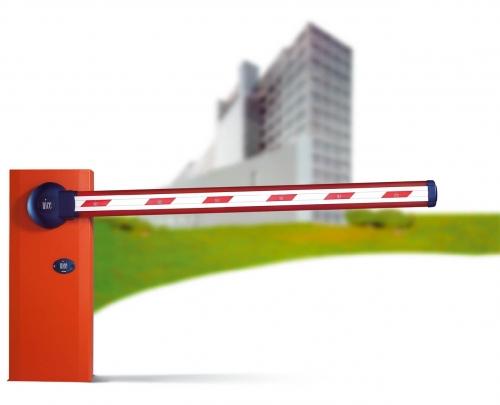 Шлагбаум автоматический NICE, стрела от 4 до 6 метров. Интенсивного использования.