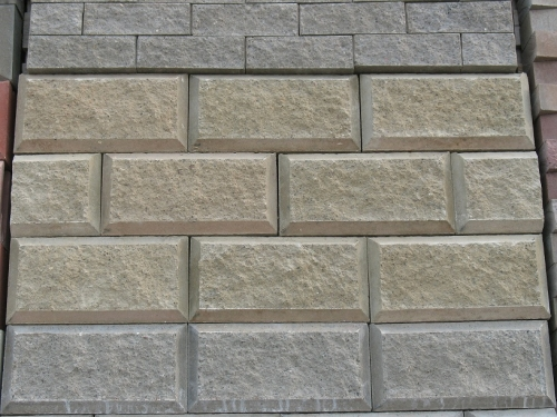 шлакоблок декоративный 400х200х100мм рваный камень