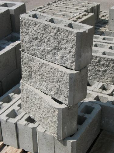 шлакоблок декоративный облицовочный – 400х200х120мм колотый под дикий камень