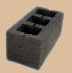 Шлакоблок М 50 пустотелый 188х190х390 мм (куб. м)