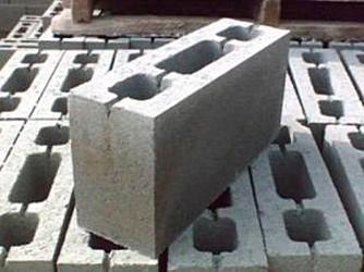 Шлакоблок перегородочный в Николаеве Шлакоблок перестеночный, перегородочный шлакоблок Николаев