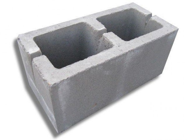 Шлакоблок стеновой М50 190*190*390