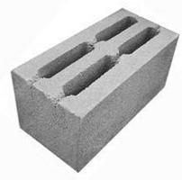 Шлакоблок стеновой усиленный М100 190*190*390