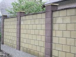 Шлакоблок заборный, Николаев Шлакоблок для забора, камень для забора, блок заборный Николаев